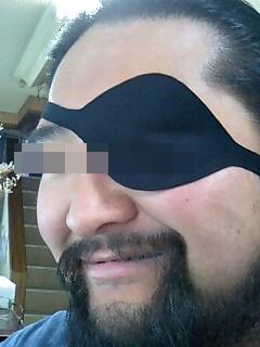 船長っぽい眼帯