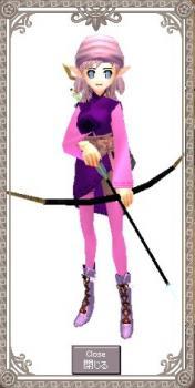 龍小姐の舞踏服