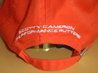 SCOTTY CAMERON CAP。