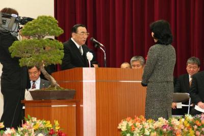 060325高遠町閉庁記念式典(1)