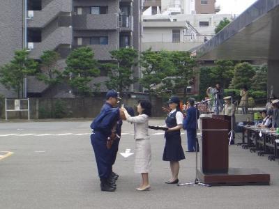 060604牛込消防団ポンプ操法大会01