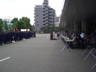 060604牛込消防団ポンプ操法大会02