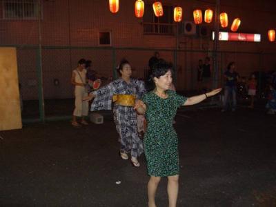 060819西落合納涼盆踊り、下落合東町会盆踊り03