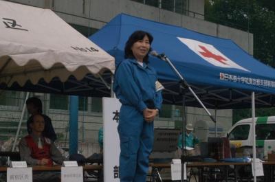 060827新宿区総合防災訓練01