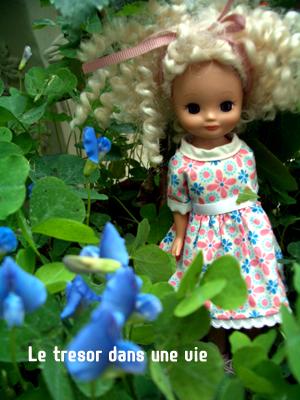 お花大好きよー。