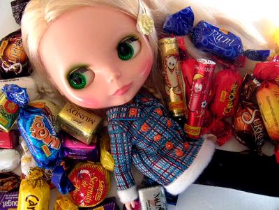 お菓子いっぱいだ。