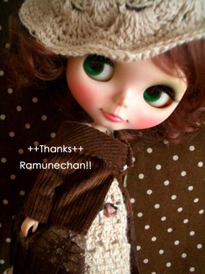 ラムネちゃんありがとう!!