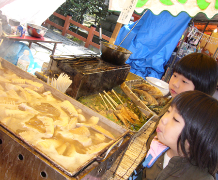 竹の子屋台