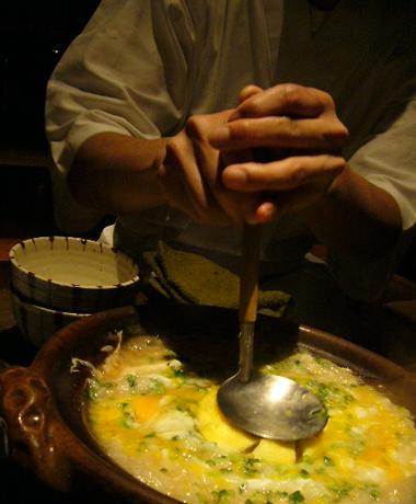 柚子鍋雑炊2