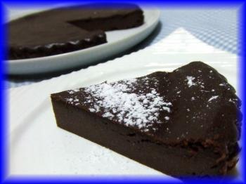 豆腐チョコレートケーキ2