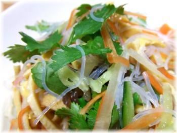 タイ風春雨サラダアップ
