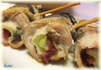 秋刀魚ロール