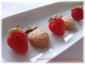イチゴクッキー2