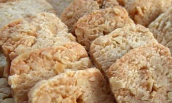 強力粉チーズクッキー