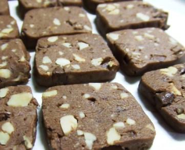 強力粉チョコクッキー