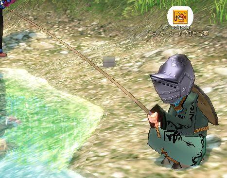 釣りをするペリカン