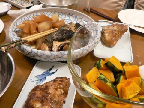 2008年2月2日夕食