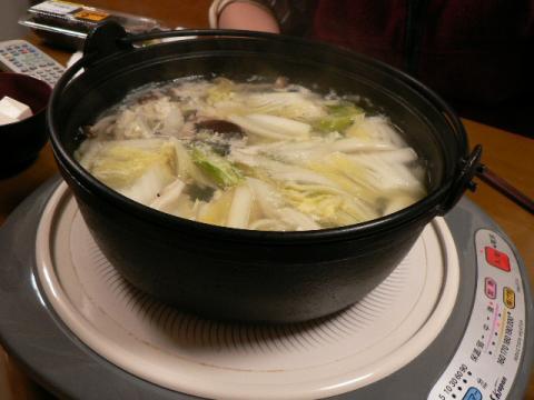2008年2月3日夕食