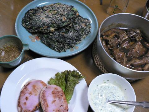 2008年2月4日夕食