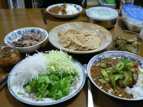 2007年10月4日夕食