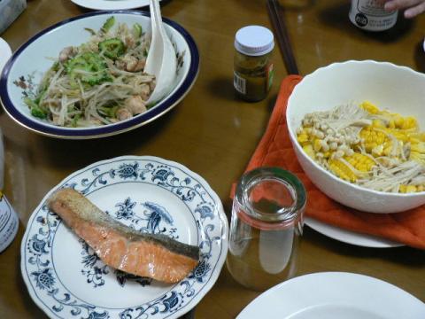 2007年9月5日夕食