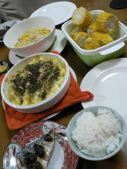 2007年9月9日夕食
