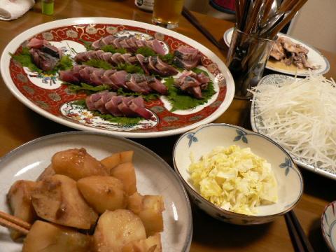 2008年2月9日夕食