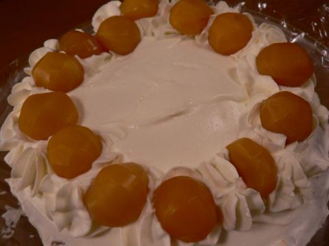 2007年12月10日栗のケーキ
