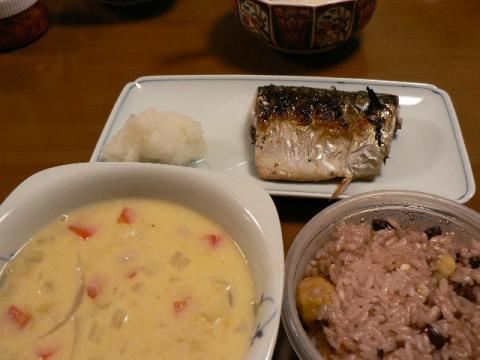 2008年2月11日夕食