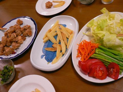 2007年8月13日夕食