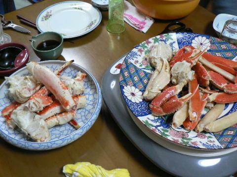 2007年11月16日夕食