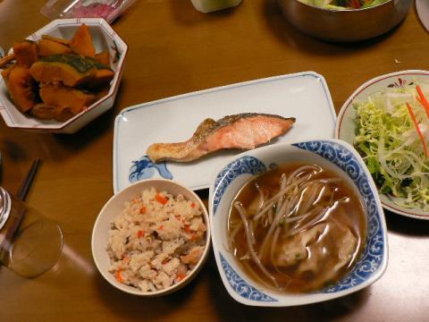 2007年12月17日夕食
