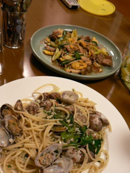 2008年2月18日夕食