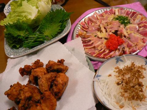 2007年12月18日夕食