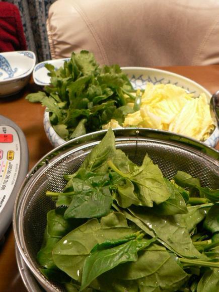 2008年2月20日夕食