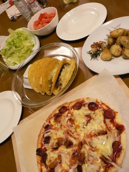 2008年2月21日夕食