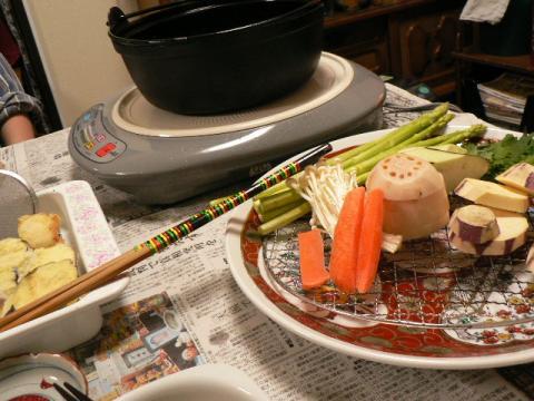 2008年2月22日夕食