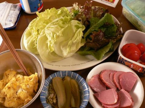 2008年2月24日昼食
