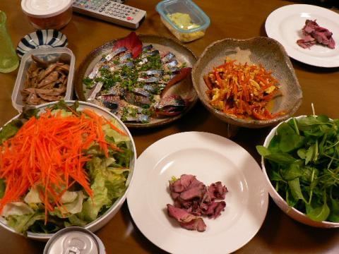 2007年11月30日夕食