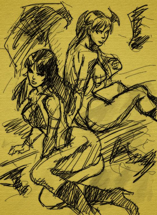 モリガンとバンピレラ