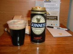 ビールで一日の疲れを癒す