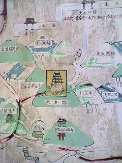佐和山城地図