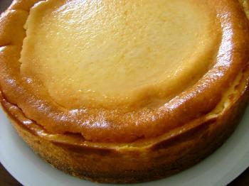 シンプルベイクドチーズケーキ