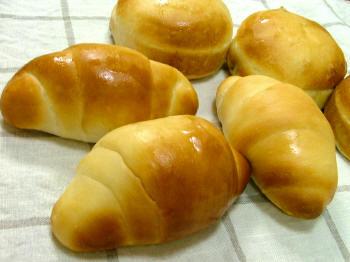 バターロール&豆パン