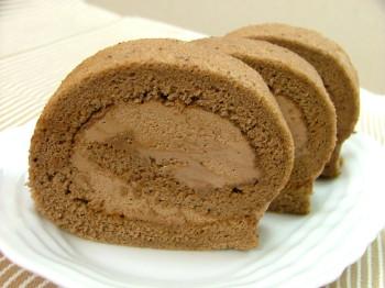 スィートチョコロールケーキ