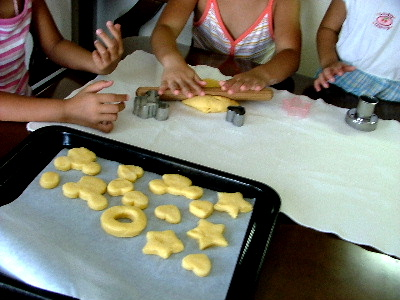 ドーナツ作り