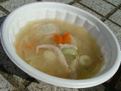 シロエビの鍋汁