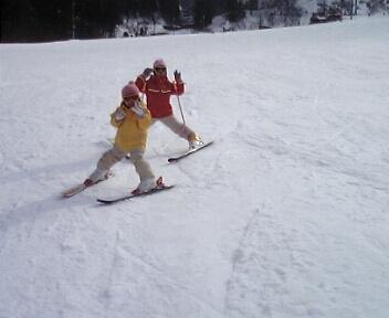 スキー 1月28日