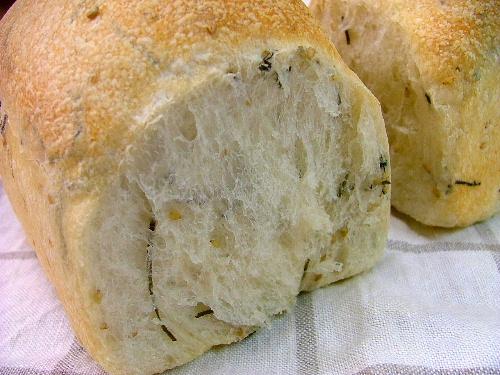 こんぶとゴマのフランス食パン