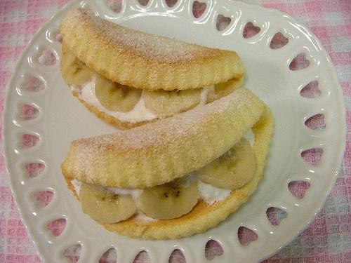 バナナのオムレット